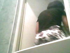 Tights piss spycam at wedding toilet