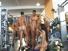 gangbang, anal, party, brasilien, group