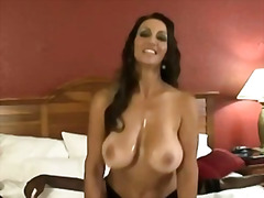 Large breasted mom plowed in hotel room