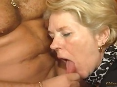 Curvaceous mature wants jizz from his sausage