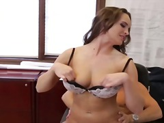 Teal conrad gets pumelled by her chief for being the impressive employee