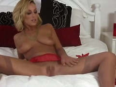 Lexi guzzle is a captivating blonde