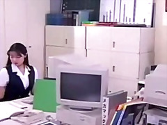 Japanese office woman