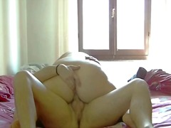 She gets pussy lapping and stiffy railing