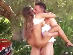 Summertime burst down madison ivy