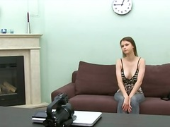 Youthfull dame hookup very first time on camera