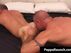 Warm cool mature taut figure gay gives cute blowage