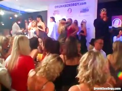 Filthy dancing at a insane night club party