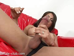Angeles cid huge man rod draining off