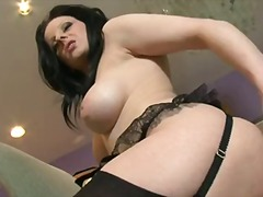 Check out with glob-dead hot brunette