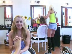 golden haired women lexi belle