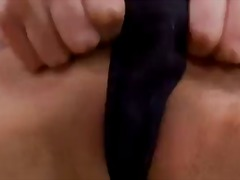 Huge-boobed and crazy tramp brett rossi paws her hefty boobs and plays with her tastey cunt