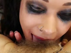 Bobbi starr is busy with making