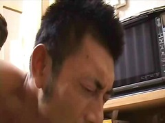 Asian three non-stop making out