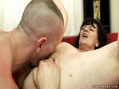 Ugly grandma getting penetrated firm by reno78