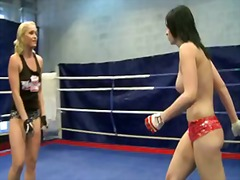 Aagell summers and kathia nobili thrilled stunner insane struggle