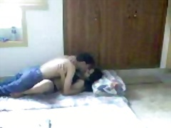 Hawt desi lady making enjoy with her bf on hidden web camera
