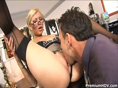 Office whore donna bell gets ramm...
