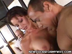 Superlatively fine cheating wifey mobile porn