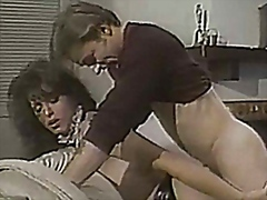 Vintage ladyboy maid penetrates fortunate fellow