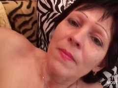 masturbation, mom, granny, older, milf, brunette, mature