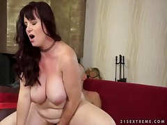 Super hot and enormously massive old bbw melany loves shaft deep throating and getting her phat bod massage...