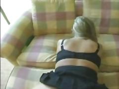 Massive all-natural bra-stuffers blonde smashed at hotel