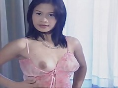 Adorable chinese bare on cam