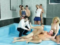 group, groupsex, boy, bisex, fucking, bisexual, orgy