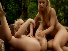 Blonde beauty kathia nobili gets her moist pinkish frigged before a horny labia going knuckle deep