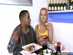 Blonde honey alexis texas is drilling with her dude