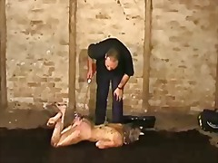 Abased fuckslut emma louise crawling in the mess