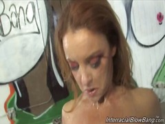 Janet mason rubdown the jizz shot...
