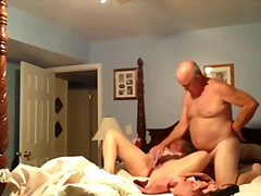 Mature wifey pulverized with marital-implement and 69