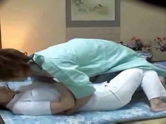Hotel masseur used by hotel guest