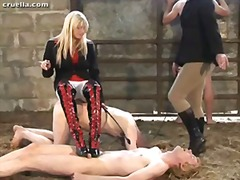 smoking mistresses tormenting sub