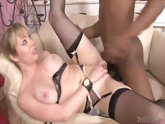 All all-natural female adrianna nicole nailed by a youthful ebony boy tone capone with trimmed ample man-meat