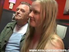 Amsterdam hooker pleases man meat