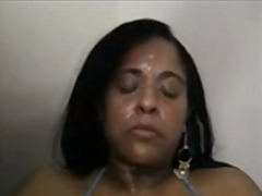 Whore cruelly smacked and spat on