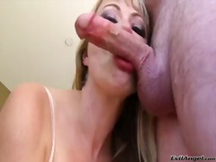 Downright lovely hoochie adrianna nicole likes getting her throat plunged by jonni darkko