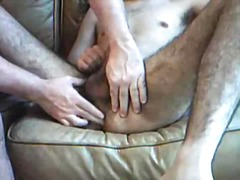 gay, fingering, handjob, cumshot, homemade, ass