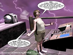 3d comic: the philadelphia project. gig trio