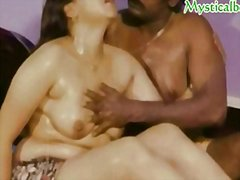 Mallu reshma boobies massaged with grease