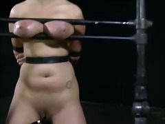 Lusty lashing for rough woman