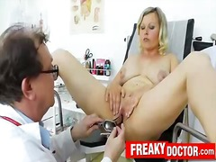 Phat innate jugs kathy jummy gyno exam