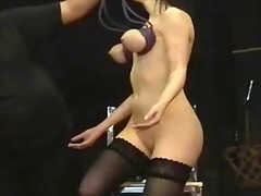 Piercing fetish and extraordinary bdsm of obedient emily