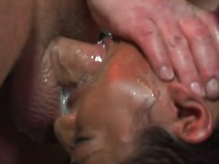 Extraordinary caged asian fellatio from lyla lei