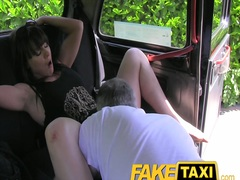 Faketaxi: married female seeks additional rod
