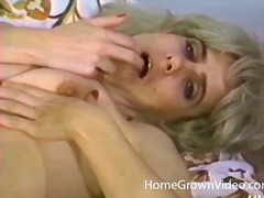 lesbian, dildo, vintage, eating, pussy