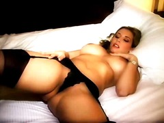 hotel, babe, stockings, busty, pornstar